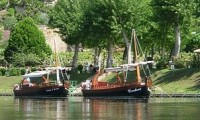 Tourist Boats on Dordogne