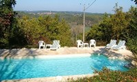 Pool at Sur la Prade