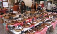 Sarlat Market stall